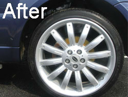 Alloy Wheel Clean - After