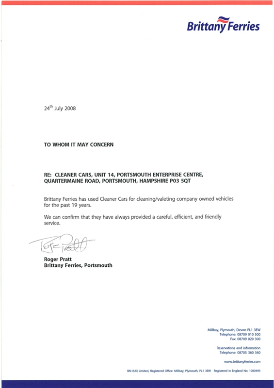 brittany-ferries-letter